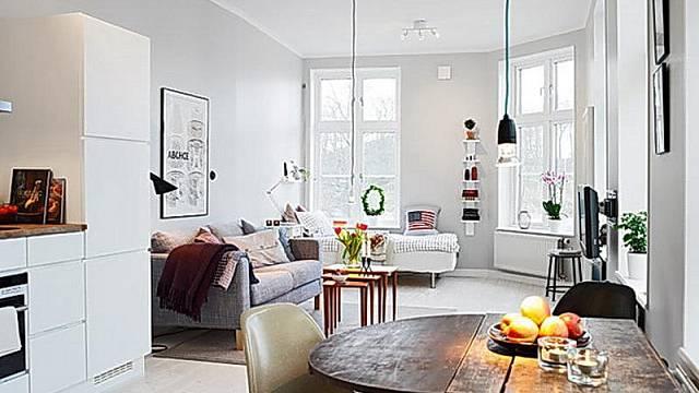 Malý byt vyžaduje chytrý nábytek – skládací stůl, skládací konferenční stolek…