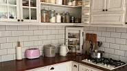 ádherná rustikální kuchyně