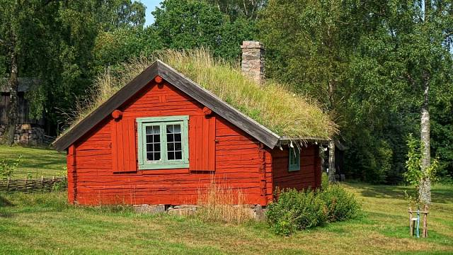 Zelená střecha umí snížit tepelné výkyvy v interiéru