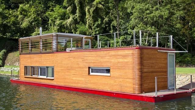 Thesayboat - nový hausbót na Vltavě 1