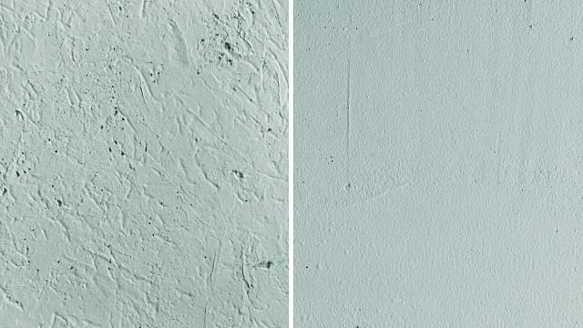 Imitace hrubého a jemného betonu