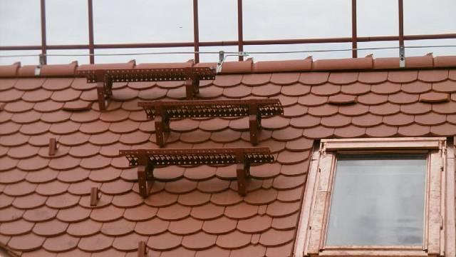 Plošina Robust na střeše - zdroj: HPI-CZ