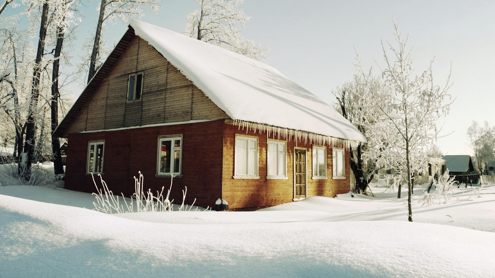 Stavba domu v chatové oblasti