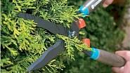 Dvouruční nůžky Gardena Classic 540 na živý plot s max. průměrem střihu 8 mm, hmotnost 830g, orientační cena 599 Kč