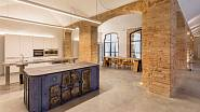 Toto jsou společenské prostory pro majitele apartmánů