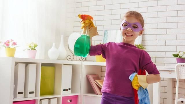 Úklid dětského pokoje