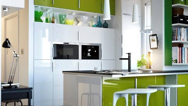 Nákupy do kuchyně: Olivově zelená