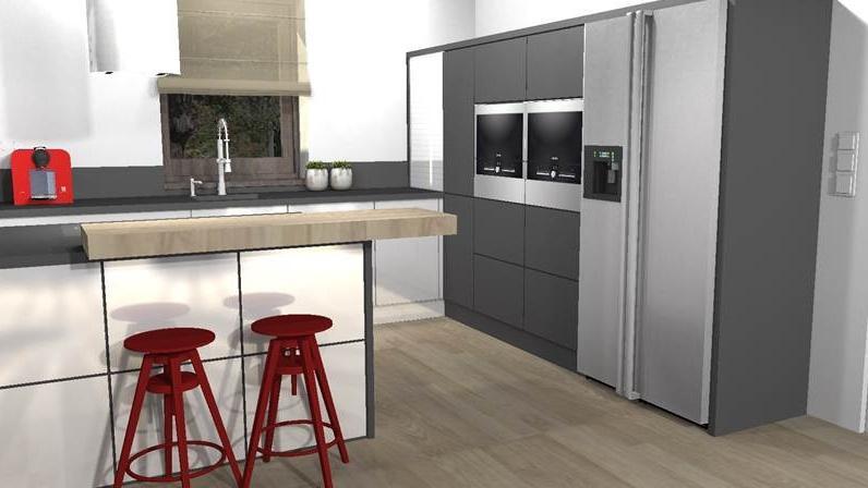 21416a0c9a13 3D návrh kuchyně s obývacím pokojem