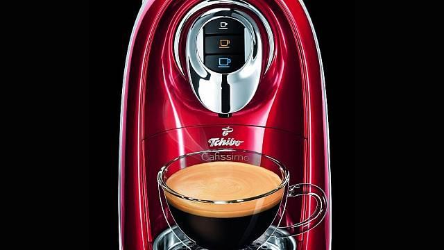 Kapslový kávovar Tchibo Cafissimo Compact s unikátní technologií 3 tlaků spařování kávy
