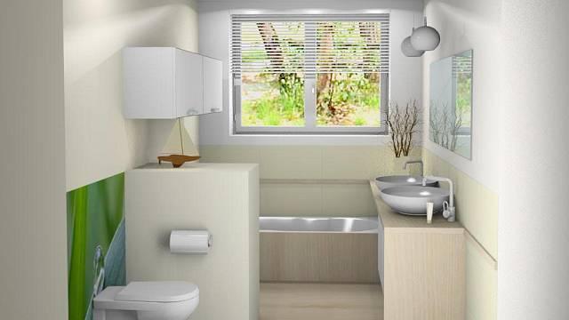 Návrh koupelny ve 3D