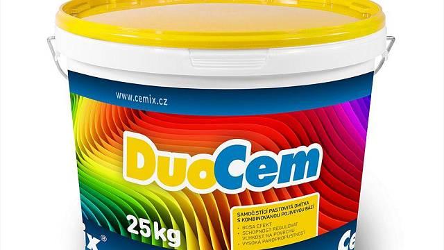 DuoCem se dodává namíchaná v plastových vědrech v balení po 25 kg.