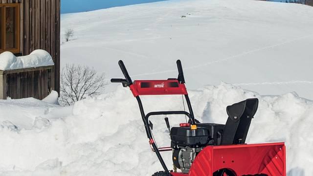 Sněhová fréza MTD Optima