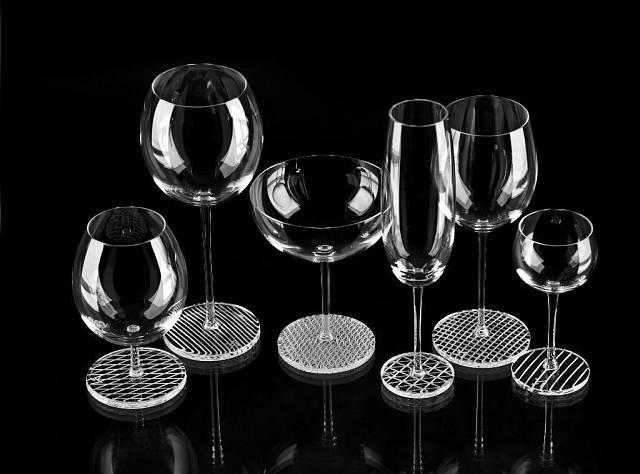 Broušené sklo od Maxima Velčovského
