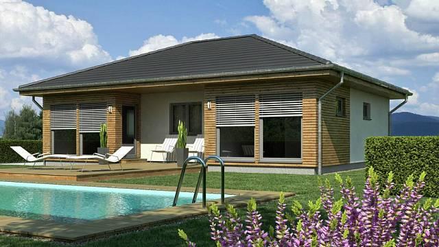 Dům, dřevostavba, ilustrační foto