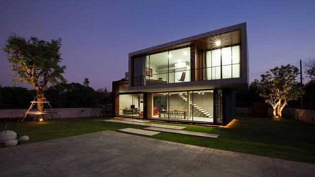 Moderní dům v Thajsku - perex