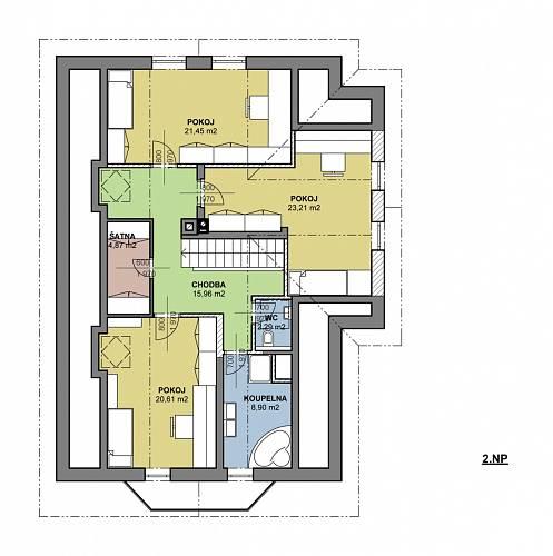 Rekonstrukce domu online: návrhy