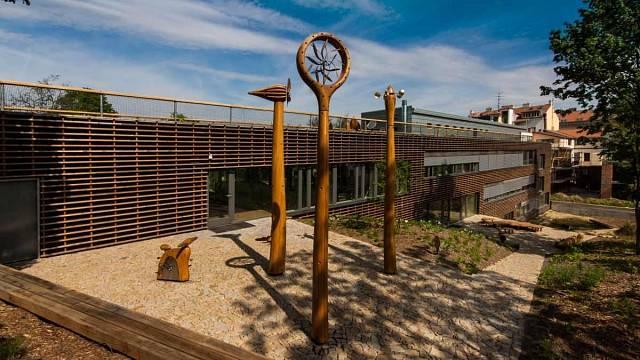 Vzdělávací a poradenské centrum Otevřená zahrada, Projektil architekti s.r.o., Foto: Lenka Grossmanová