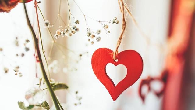 Valentinské dekorace