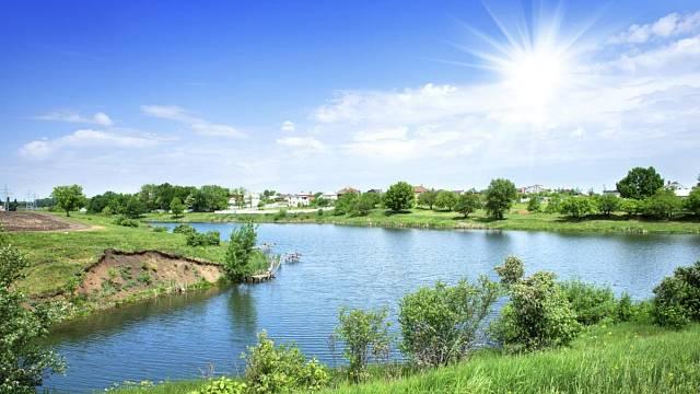 Rybníky mají vyšší průměrnou prodejní cenu než stavební poizemky, pole i lesy.