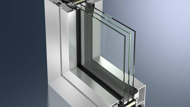 Okenní systém Schüco AWS 112. IC