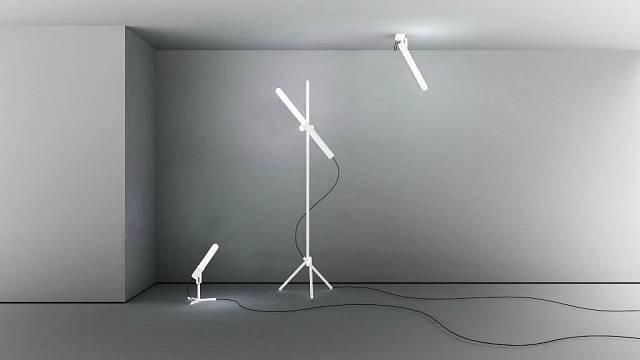 Lampy z foukaného skla Sätelite