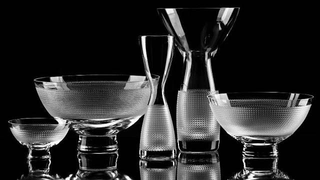 Broušené sklo od Františka Víznera
