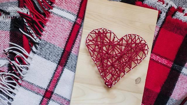 Dekorace ve tvaru srdce