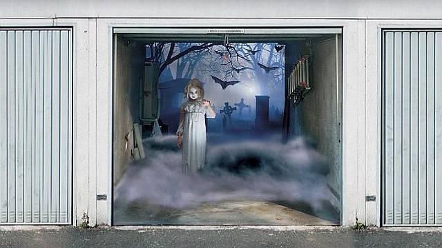 Halloweenské dekorace