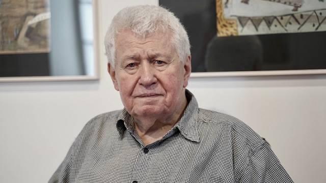 Výtvarník a knižní ilustrátor Jiří Šalamoun