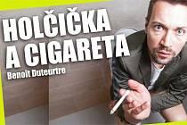 Holčička a cigareta.