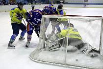 Derby HC Stadion Litoměřice - HC Roudnice nad Labem (4:3).
