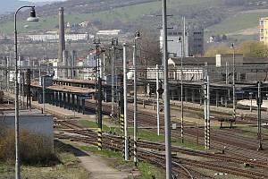 Vlakové nádraží v Lovosicích. Archivní foto