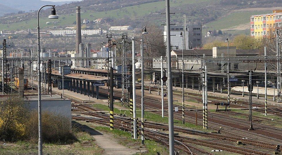 Vlakové nádraží v Lovosicích