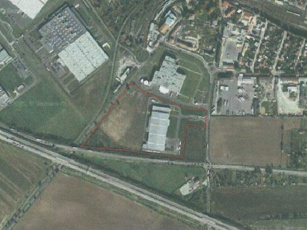 Plánovaná výstavba nové haly.