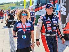 Adam Lacko s manželkou Kateřinou.