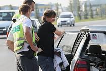 Policejní kontroly na Litoměřicku