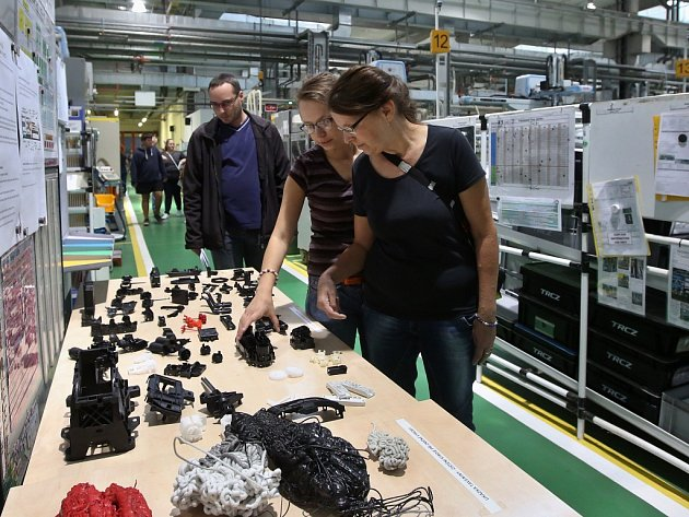 Den otevřených dveří v průmyslové zóně TRCZ