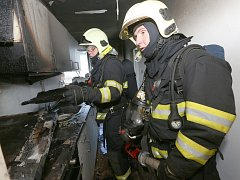 Požár v Čížkovicích