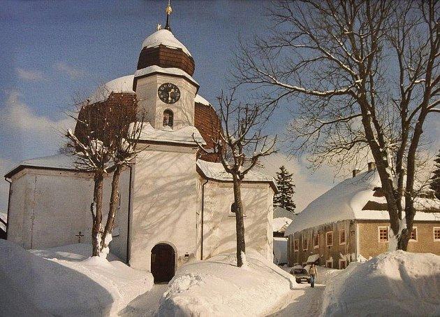 Zvýstavy Šumava - flóra, fauna a lidé Václava Chabra na litoměřickém hradě.