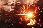 Poslední noc pevnosti Svídnice byla opravdu krutá. Dělostřelecká palba a mraky pěšáků se snažili porazit obranu pevnosti. Pro diváky to byla opravdová podívaná, sešlo se jich téměř stejné množství jako odpoledne.