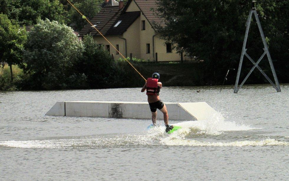 Wake sport park v České Lípě.