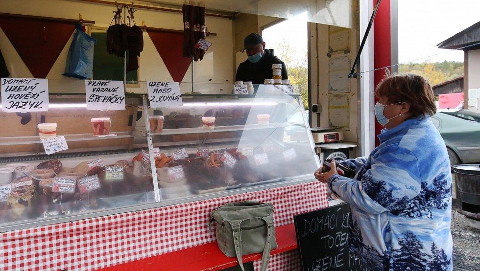 Trhy v Ředhošti, sobota 31. října