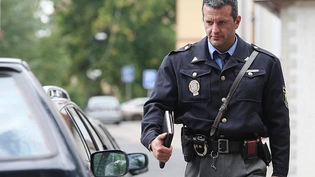 Třebenický strážník Tomáš Rotbauer.
