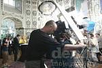 Natáčení seriálu Ošklivka Katka na zámku v Ploskovicích, 2008