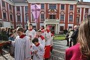 Litoměřice, církev, velikonoce, Květná neděle,