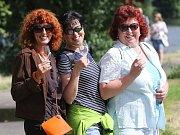 Několik stovek účastníků mělo sobotní Putování za víny Brány Čech.