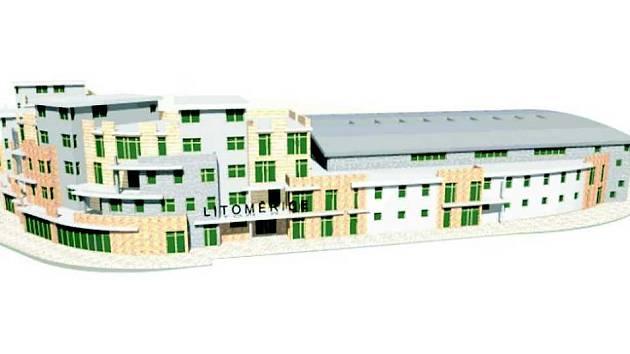 Město Litoměřice počítá se zahájením výstavby nové sportovní haly v areálu fotbalového stadionu v roce 2009. Zázemí v ní mají nalézt fotbalisté, basketbalisté, tenisté, hokejisté, ale třeba i atleti.