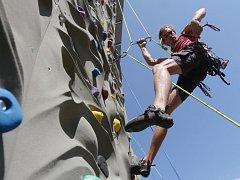 Nová lezecká stěna v Roudnici