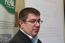 GENERÁLNÍ ředitel Lovochemie a Preolu Petr Cingr.