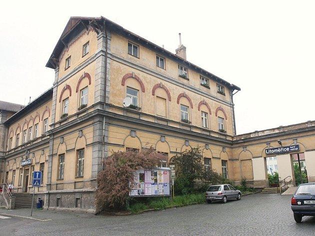 Horní nádraží v Litoměřicích